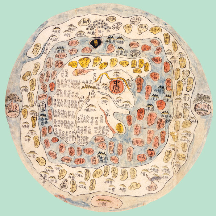 17 A_Korean_world_map_centered_on_the_legendary_Mount_Meru.jpg